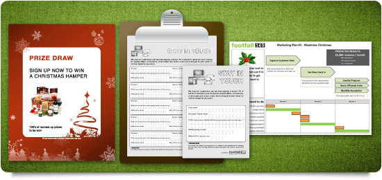 Poster, Clipboard, A4 & A6 Data Capture Forms, Marketing Plan